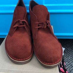 Clark's men's size 13 boot new Bushacre